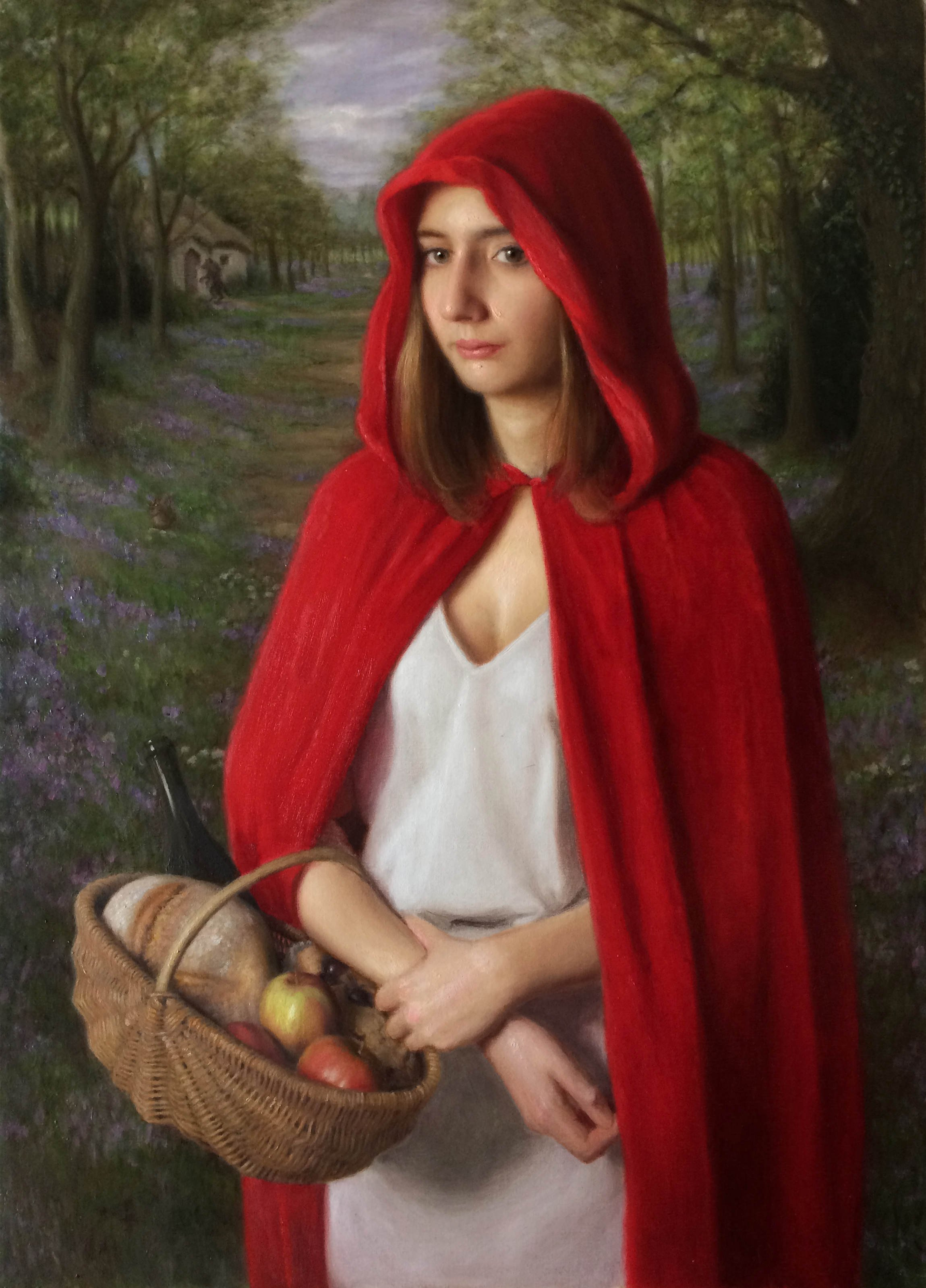 Amy as Red Riding Hood